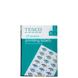 Tesco all purpsose labels Reviews
