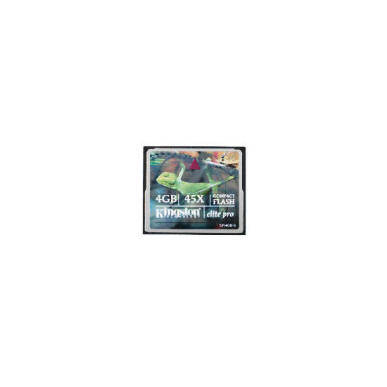 Kingston 4GB Compact Flash Elite Pro Card