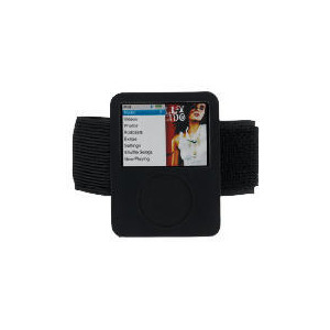 Photo of Technika IP-108B iPod Nano Silicon - Black iPod Accessory