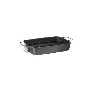 Photo of Tesco Professional Roasting Pan With Rack and Handles 36X25.5 Cookware