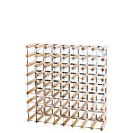 RTA 72 bottle pine/steel assembled wine rack Reviews