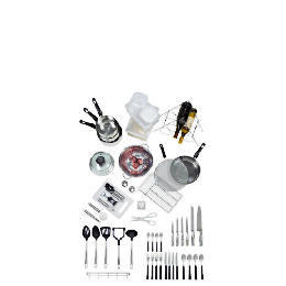 50 piece stainless steel kitchen starter set Reviews