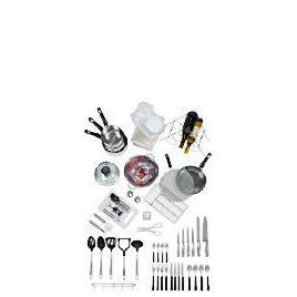 50 piece stainless steel kitchen starter set Reviews