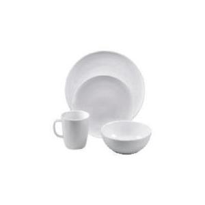 Photo of Tesco White Porcelain 16 Piece Set Dinnerware