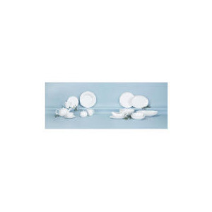 Photo of White Porcelain 35 Piece Set Dinnerware