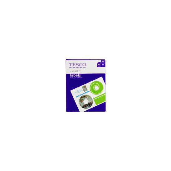 Tesco CD/DVD Labels