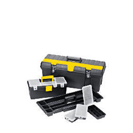 "Stanley 26"" Professional Toolbox + 15"" Toolbox + 3 Organisers Reviews"