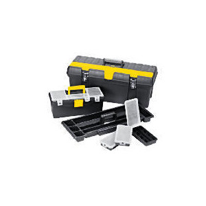 """Photo of Stanley 26"""" Professional Toolbox + 15"""" Toolbox + 3 Organisers Tool"""