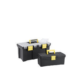 """Stanley 20"""" Toolbox + 15"""" Toolbox + 11 Compartment Organiser Reviews"""