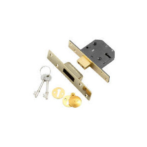 Photo of 5 Lever British Standard Deadlock Garden Equipment