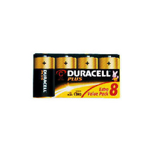 Photo of Duracell C 8 Pack Batteries Battery