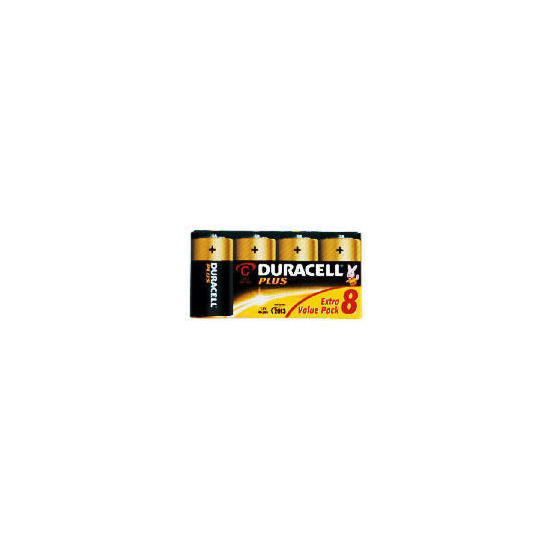 Duracell C 8 Pack Batteries