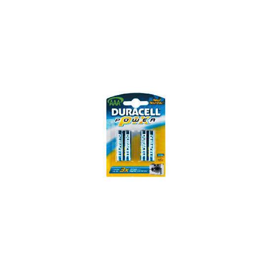 Duracell Powerpix AAA 4 Pack Batteries