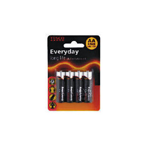 Photo of Tesco AA 4 Pack Batteries Battery
