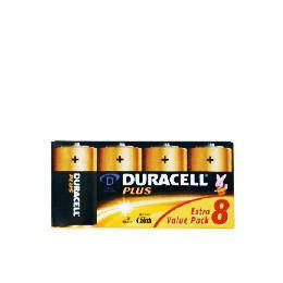 Duracell D 8 Pack Batteries Reviews
