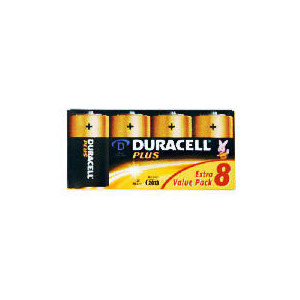 Photo of Duracell D 8 Pack Batteries Camera and Camcorder Battery