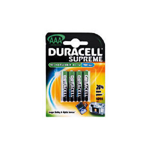 Photo of Duracell Rechargeable Batteries AAA 4 900 Mah Battery