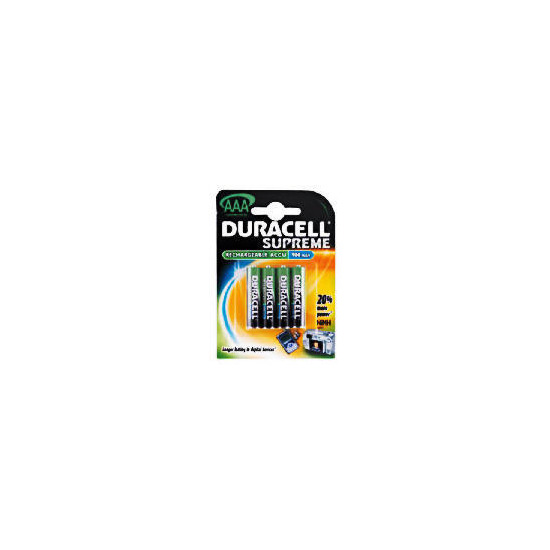 Duracell Rechargeable Batteries AAA 4 900 Mah