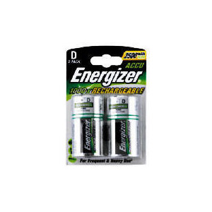 Photo of Energizer Rechargeable Batteries D2 2500 Mah Battery