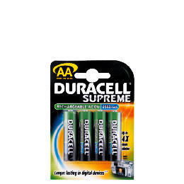 Duracell Rechargeable Batteries AA 4 2500 Mah Reviews