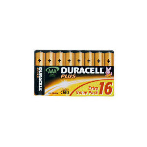 Photo of Duracell AAA 16 Pack Batteries Battery