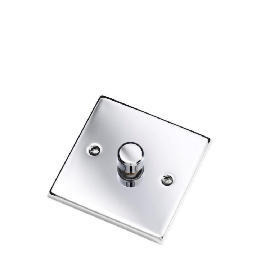 Polished Chrome 1 Gang 2 Way 60 - 400W Dimmer Reviews
