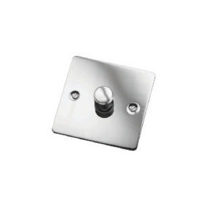 Photo of Flat Plate Brass 1 Gang 2 Way 400W Dimmer Switch Home Miscellaneou