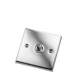 Polished Chrome 1 Gang 2 Way Toggle Switch Reviews