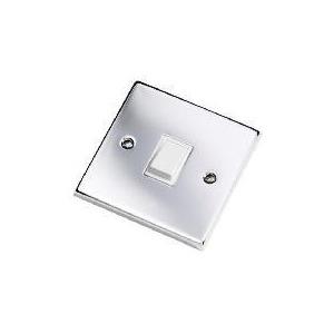 Photo of Polished Chrome 1 Gang 2 Way Lightswitch Lighting
