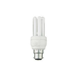 Photo of GE 11W T3 LOW     ENERGY STICK 10   YEAR BC CAP Lightbulb