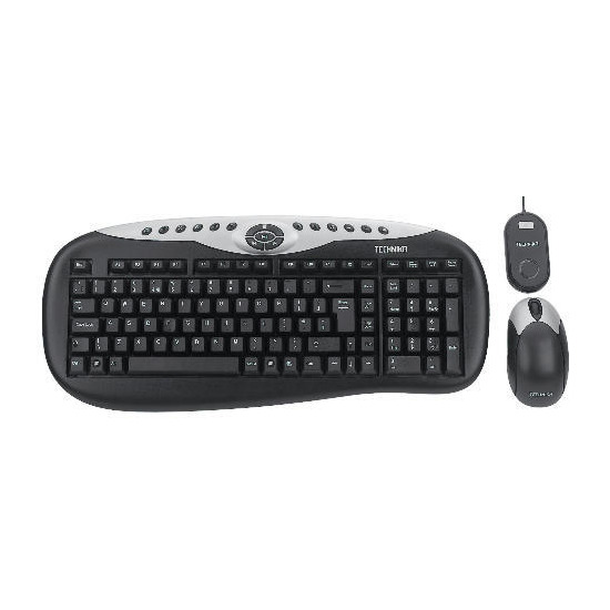 Technika Wireless Keyboard & Wireless Optical Mouse