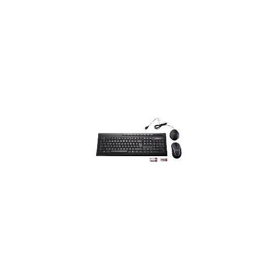 Technika Ultra Wireless Keyboard & Wireless Optical Mouse