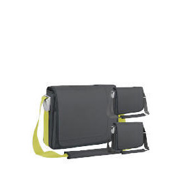 "Targus 15.4"" Charcoal Messenger Laptop Bag Reviews"
