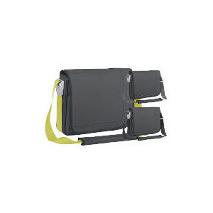 "Photo of Targus 15.4"" Charcoal Messenger Laptop Bag Laptop Bag"