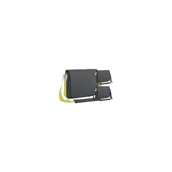 "Targus 15.4"" Charcoal Messenger Laptop Bag"