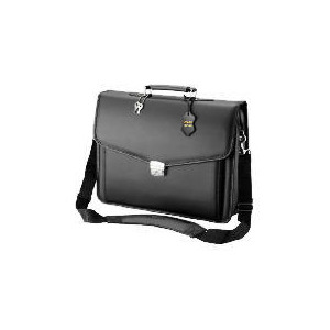 """Photo of Targus 15.4"""" Leather Messenger Laptop Bag Laptop Bag"""