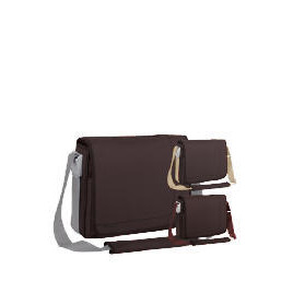 "Targus 15.4"" Chocolate Messenger Laptop Bag Reviews"