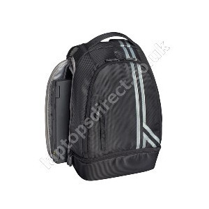 "Photo of Targus 15.4"" Racing Stripes Black Backpack  Laptop Bag"