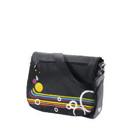 "Celly 15.4"" Rainbow Black Laptop Bag Reviews"