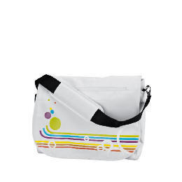 "Celly 15.4"" Rainbow White Laptop Bag Reviews"
