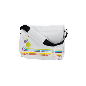 "Photo of Celly 15.4"" Rainbow White Laptop Bag Laptop Bag"
