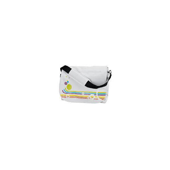 "Celly 15.4"" Rainbow White Laptop Bag"