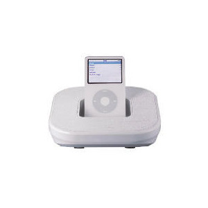 Photo of Technika SP-507W Portable iPod Speaker (White) iPod Dock