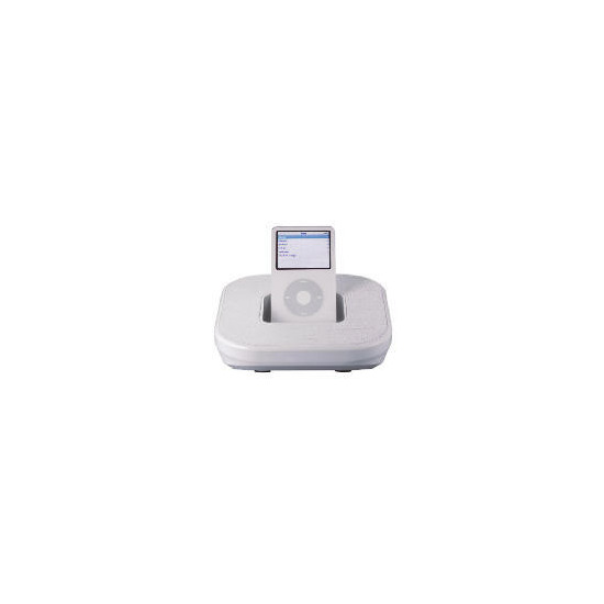 Technika SP-507W Portable iPod Speaker (White)