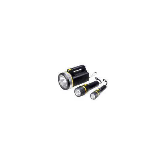 3 Pack Torches - Batteries Included