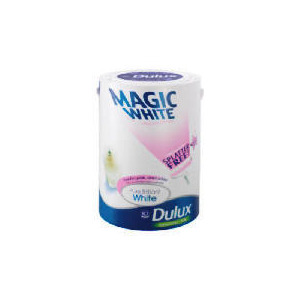 Photo of Dulux Magic White Silk PBW 5L Home Miscellaneou
