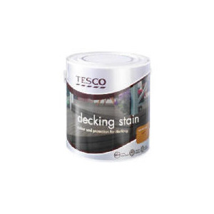 Photo of Tesco Decking Stain Natural Oak 2.5L Home Miscellaneou