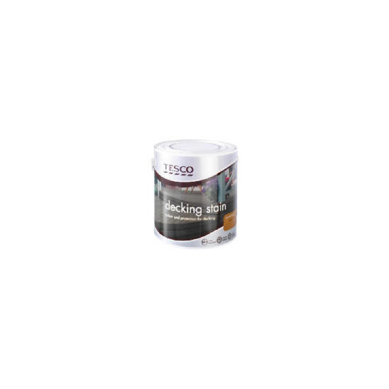 Tesco Decking Stain Natural Oak 2.5L