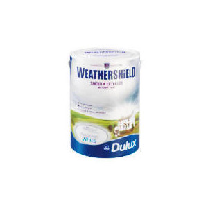 Photo of Dulux Weathershield Smooth Masonry PBW 5L Home Miscellaneou