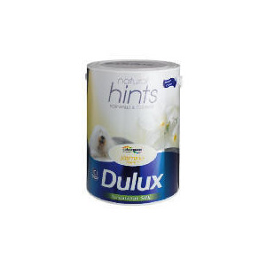 Photo of Dulux Hints Silk Jasmin White 5L Home Miscellaneou